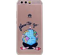 Para huawei p10 p10 lite telefone caso sexy menina padrão soft tpu material telefone caixa p10 plus p8 lite (2017)