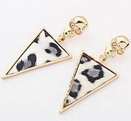 Men's Women's Stud Earrings Jewelry Basic Unique Design Geometric Friendship Durable British Sexy Classic Fashion Elegant Vintage