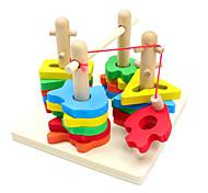 Недорогие -Конструкторы Пазлы Игры с последовательностью Рыболовные игрушки Игрушки Рыбки Детские Куски