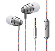cheap -soyto KDK 204 In Ear Wired Headphones Dynamic Plastic Mobile Phone Earphone with Volume Control / with Microphone / Stereo Headset