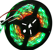 cheap -HKV Flexible LED Light Strips 300 LEDs RGB Cuttable Color-Changing Self-adhesive DC 12V