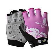 Недорогие -SPAKCT Спортивные перчатки Спортивные перчатки Перчатки для велосипедистов Пригодно для носки Дышащий Нескользящий Меньше трения Прочный