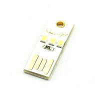 Творческая светодиодная клавиатура с подсветкой USB с теплым белым или холодным белым мобильным светом