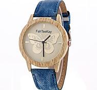 preiswerte -Damen Armbanduhr / Sportuhr Kreativ / Cool / Armbanduhren für den Alltag Legierung Band Charme / Luxus / Freizeit Weiß / Blau / Rot