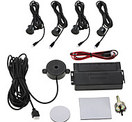 cheap -KKmoon Car Auto 4-Sensor Parking Radar Kit Reverse Radar Alarm System