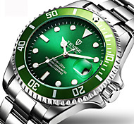 Муж. Нарядные часы Модные часы Наручные часы Механические часы С автоподзаводом Календарь Защита от влаги Светящийся Нержавеющая сталь