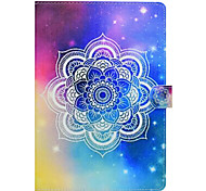 Custodia per apple ipad pro 10.5 9.7 '' custodia per carta da parati con custodia per telaio completo mandala hard ip leather (2017) 2 3 4