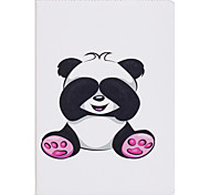 Case For IPad 2 3 4 Air Air 2 Pro 9.7'' Case Cover Panda Pattern PU Material Three Fold Flat Computer Shell Phone Case