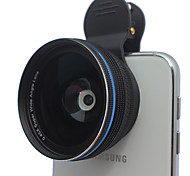 Aluminum Alloys universal Clip cellphone 0.45X wide angel lenses  10x macro mobile phone lens for iphone Huawei xiaomi samsung