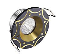 Недорогие -1 шт. Dimmable led утопленные огни 3w прохладно белый 220v высокое качество