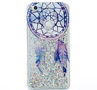 cheap -Case For Huawei P9 Lite Huawei Huawei P8 Lite Flowing Liquid Back Cover Dream Catcher Soft TPU for Huawei P9 Lite P8 Lite (2017) Huawei