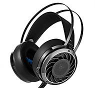 Недорогие -Профессиональная 3,5-мм стереофоническая игровая гарнитура для басовых наушников удобная головная повязка с наддувом, с шумоизоляцией,