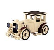 Недорогие -3D пазлы Деревянные пазлы Деревянные игрушки Летательный аппарат Автомобиль 3D Своими руками 3D Дерево Классика Универсальные Подарок