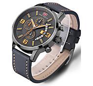 Муж. Спортивные часы Нарядные часы Модные часы Повседневные часы Наручные часы Уникальный творческий часы Китайский Кварцевый Календарь