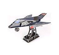 cheap -3D Puzzles Model Building Kit Plane / Aircraft Fighter DIY High Quality Paper Classic Unisex Gift