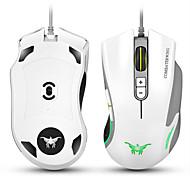 Недорогие -Cw10 4800 точек на дюйм с проводными игровыми мышами мыши 7 кнопок дизайн 6 дышащих светодиодных цветов, изменяющих высокую точность для
