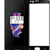 Недорогие -Защитная плёнка для экрана OnePlus для One Plus 5 Закаленное стекло 1 ед. Защитная пленка на всё устройство Защита от царапин