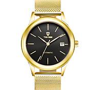 Недорогие -Муж. Механические часы Модные часы Спортивные часы Китайский С автоподзаводом Календарь Защита от влаги Фосфоресцирующий Светящийся