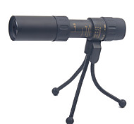 10-30X25mm Monocular Outdoor Spotting Scope Handheld Generic Carrying Case High Powered Porro Prism Military General use Hunting Bird