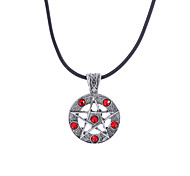 cheap -Men's Star Synthetic Diamond Rhinestone Pendant Necklace - Religious Jewelry Luxury Unique Design Dangling Style Movie Jewelry Sideways