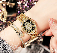 Luxury Women Watch Fashion Stainless Steel Quartz Watches Creative Barrel Type Ladies Dress Clock Relogio Feminino