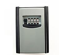 Ks008 цинковый сплав ящик для ключей 4-значный пароль ключ ящик для хранения настенный номер карта ящик для хранения данных блокировка