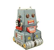 Игрушка с заводом Робот Игрушки Квадратный Танк Машина Робот Сварочное железо Куски Не указано Подарок