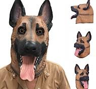 Недорогие -Новый прохладный волк собака полная маска Хэллоуин подарки экологичный характер латекс lifelike собака голову маску для косплей партии