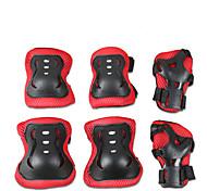 Для детей Защитная экипировка Защита коленей, локтей и запястий для Катание на коньках Скейтбординг Роликовые коньки Гироскутер