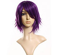 cheap -Synthetic Wig Straight Men's Women's Capless Cosplay Wig Short Synthetic Hair