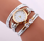 cheap -Women's Kid's Fashion Watch Bracelet Watch Unique Creative Watch Casual Watch Chinese Quartz Water Resistant / Water Proof PU Band