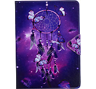 cheap -Case For Apple iPad Mini 4 iPad Mini 3/2/1 iPad 4/3/2 iPad Air 2 iPad Air Card Holder Wallet with Stand Flip Full Body Cases Dream Catcher