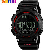 SKMEI Men's Sport Watch Smart Watch Japanese Digital Calendar Water Resistant / Water Proof Alarm Fitness Trackers Noctilucent Pedometer