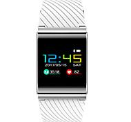 Муж. Модные часы Цифровой Кожа Группа Черный Серебристый металл Серый