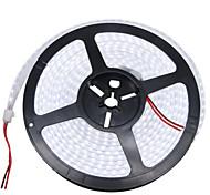 baratos -HKV Faixas de Luzes LED Flexíveis 1200 LEDs Branco Quente Branco Impermeável DC 12V