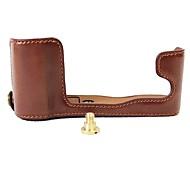 Недорогие -Dengpin pu кожаная сумка для камеры сумка для фуджифилма x-a3 xa3 (различные цвета)
