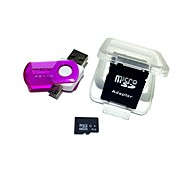 cheap -4GB MicroSDHC TF Memory Card with 2 in 1 USB OTG Card Reader Micro USB OTG