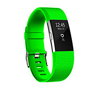 For Fitbit Charge 2 Band Silicone Adjustable Replacement Fitness Sport Strap Bands  Wristband