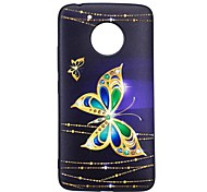 Case for Motorola G5 G5 PLUS Cover Butterfly Pattern Back Cover Case Soft TPU
