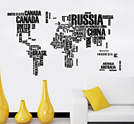 cheap -History Wall Stickers Plane Wall Stickers Decorative Wall Stickers, Vinyl Home Decoration Wall Decal Wall