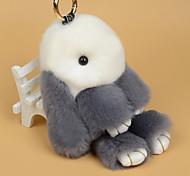 Bag / Phone /  Keychain Charms Cartoon Toy Rabbit Rex Rabbit Fur