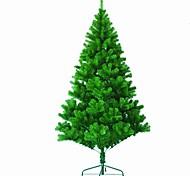 1pc 1,2 m plein d'aiguilles de pin arbre de noël décoré noël
