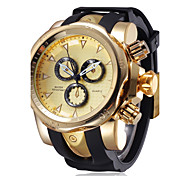 cheap -Men's Quartz Wrist Watch / Sport Watch Chinese Chronograph / Water Resistant / Water Proof / Creative / Large Dial / Punk / Shock