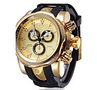 Недорогие -Муж. Кварцевый Наручные часы / Спортивные часы Китайский Секундомер / Защита от влаги / Творчество / Крупный циферблат / Панк /