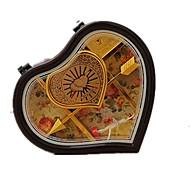 музыкальная шкатулка Игрушки В форме сердца Пластик Романтика Куски Универсальные День Святого Валентина Подарок