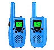 Walkie Talkies für Kinder 22 Kanal Micro Usb Aufladen 2 Wege Radio 3 Meilen (bis zu 5 Meilen) Frs / Gmrs Handheld Mini Walkie Talkies für