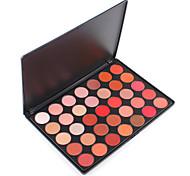 35OS Shimmer Nature Glow Eyeshadow Palette Bright Light Warm Matte Pigment Shadow Powder Contour Salon Pro Set Cosmetic Kit