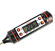 cheap -Tp101 Digital Screen Thermometer Tester For Cooking (Black Color)