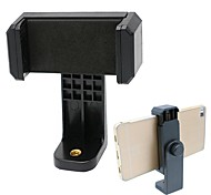cheap -Universal Cell Phone Tripod Mount Adapter Smartphone Holder Mount Clip for iPhone and Samsung Galaxy