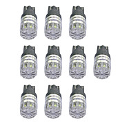 cheap -10pcs T10 Car Light Bulbs 1W COB 55lm LED Light Bulbs Turn Signal Light